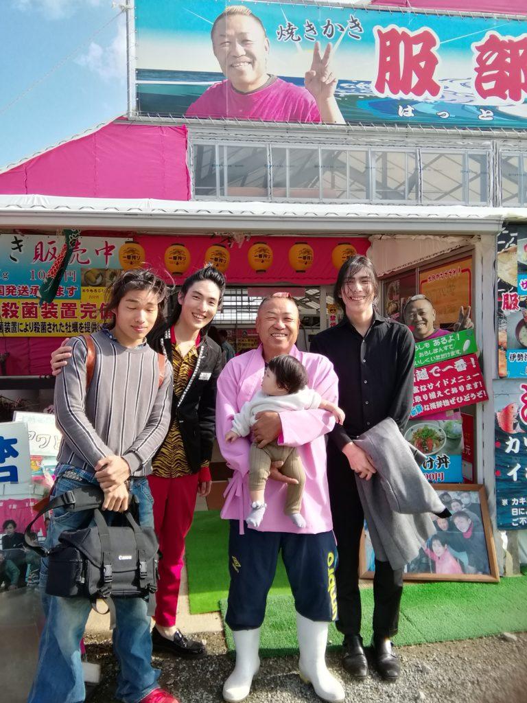 糸島 牡蠣小屋 服部屋